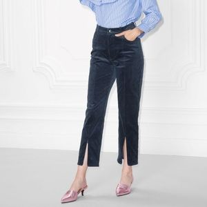 & Other Stories Navy Corduroy Pants - NEW